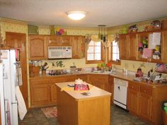 Blaine, MN--kitchen remodel, before.  763-286-2244 or email bkbaths@gmail.com