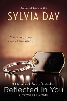Reflected in You by Sylvia Day.  Click the cover image to check out or request the bestsellers kindle.