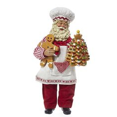 Kurt S Adler Fabriche Cooking and Baking Collection