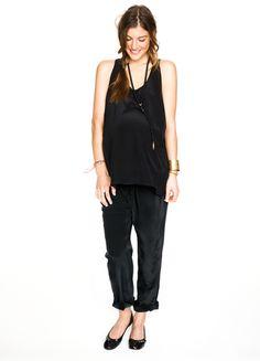 Cute all black ensemble