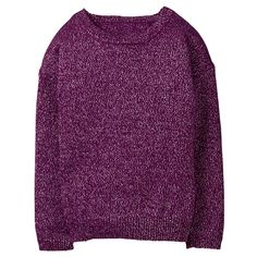 Girl Plum Sparkle Sweater by Gymboree
