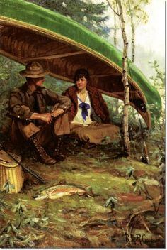 Philip Russell Goodwin - Philip R. Goodwin - Waiting Out the Storm Painting