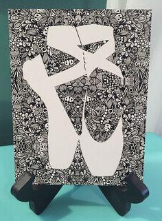 Zentangle On Point by DesignsByBlynn on Etsy