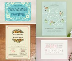 Minted Wedding Invitations. Order and customize online.