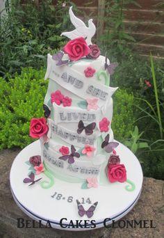 A fairytale divorce cake!