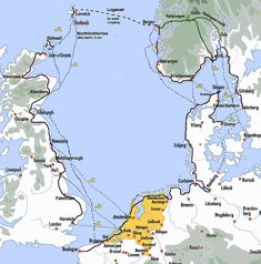 De route. Meer info: http://europafietsers.nl/routes/nscr/route.htm