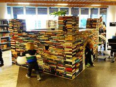 Or perhaps a book castle?
