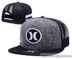 Hurley Mesh Snapback Hats Quick-drying cap 001|only US$6.00 - follow me to pick up couopons.