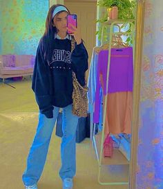 Indie Outfits, Fall Fashion Outfits, Retro Outfits, Cute Casual Outfits, Kids Outfits, Vintage Outfits, Indie Clothes, Indie Fashion, Streetwear Fashion