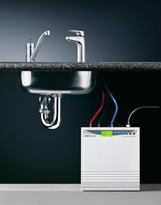 Quadra Plus with Hot Water Mixer Tap - Billi Undersink Systems