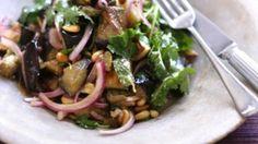 Middle Eastern eggplant salad