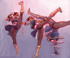 Don't mess with Chun Li!