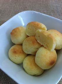 THERMOMIX: Receita de pão de queijo