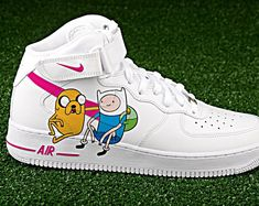 Custom Nike Air Force one courage the cowardly dogcustom sneakerscustom shoescustom nike custom kicks hand painted Custom Painted Shoes, Custom Shoes, Nike Custom, Nike Shoes Air Force, Nike Air Force Ones, Sneakers Fashion, Fashion Shoes, Mens Fashion, Basket Style