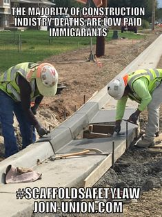 A Majority of Construction Industry Deaths are Low Paid Immigrants- #scaffoldsafetylaw