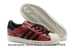 competitive price 5bf6a 09694 Superstar 80s Adidas Uomo Donna CNY Snake Cardinal Nere Casual Scarpe ( Adidas Nuove)