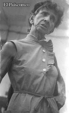 Jovita Feijó en la Feria de Cali en 1967.