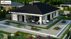 Z443 to wyjątkowy dom z kategorii projekty domów do 130 m2