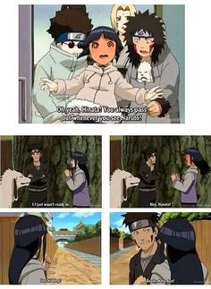 Hinata sure was so shy back then :D