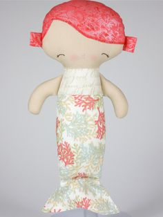 Baby Mermaid Doll PDF Pattern. $11.00, via Etsy.