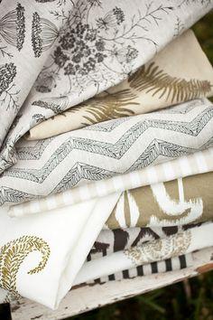 Love Laura Liess' new textiles.