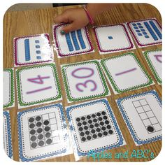 Apples and ABCs: Math with Base 10 Blocks