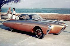 1956 Oldsmobile Golden Rocket--=concept car from the 1950's