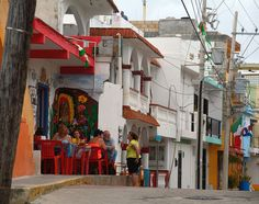 Downtown, Isla Mujeres, Quintana Roo, Mexico