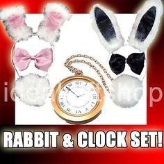 alice in wonderland white rabbit costume