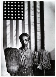 "© Gordon Parks, 1942, American Gothic --- ""It's the first professional image I…"