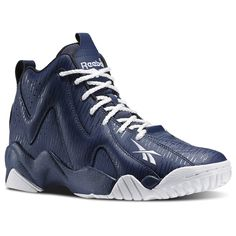 The Kamikaze II is a cool looking update of the incredibly successful original. It features the support of a mid-cut design, and the lightweight cushioning of Hexalite in the forefoot and Ultra Hexalite in the heel. The design pays homage to one of the more iconic Kamikaze II releases in 2013 by recreating Reebok's signature rain camouflage graphic on an Indigo textile upper, capturing the dark choppy waters synonymous with Lake Washington during a storm and the darker colors typical of…