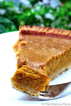 Clean Eating Pumpkin Pie