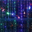 224 LEDs Curtain Light 9.8 x 6.6 ft Xmas Festival Curtain String Fairy Lights