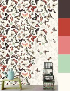 Color palette of the week: Butterfly