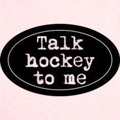 Talk Hockey To Me! Hockey is my life. Flyers Hockey, Blackhawks Hockey, Hockey Shirts, Hockey Players, Chicago Blackhawks, Kings Hockey, Hockey Mom, Field Hockey, Ice Hockey