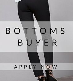 CALLING ALL #FASHION #BUYERS! We have a fantastic opportunity for you! #buying #buyer