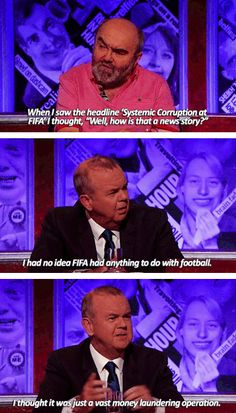 "On football: | 41 Times ""Have I Got News For You"" Perfectly Summed Up Britain"