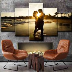 5 Pieces Poster Wall Art Canvas Painting Nordic Wall Pictures for Living Room Decoration Picture Art Print Romantic Love Living Room Pictures, Wall Pictures, Love Decorations, Multi Picture, Love Wall Art, Decorating With Pictures, Canvas Prints, Art Prints, Picture Wall