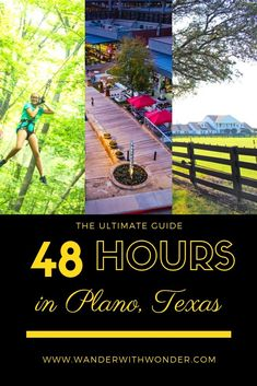 Plano, Texas is part of the Dallas Fort Worth Metroplex. But as part of the greater DFW area, Plano is often overshadowed by its big-city neighbor of Dallas. I discovered that Plano is a great destination that has something for everyone. I recently took my granddaughter for a quick visit. Here is our ultimate guide to 48 hours in Plano. #VisitPlano #Plano #FamilyTravel #Texas #Travel #UltimateGuide #48Hours #multigen via @wanderwwonder