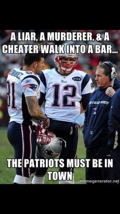 #Cheatriots - they deserved this