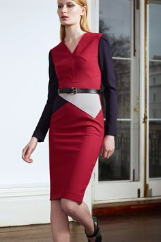 Roland Mouret Pre-Fall 2013 Collection Slideshow on Style.com