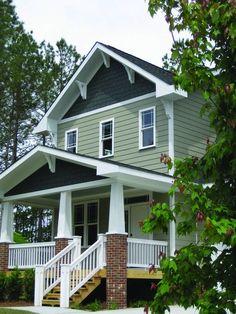 Standout Suburban Homes with Shingle Siding -