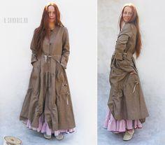 Ксения Берестовая, выпускница Эстонской академии искусств, создает очаровательные вещи в стиле бохо под маркой Sanabis.