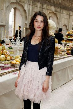 Astrid Berges-frisbey at chanel
