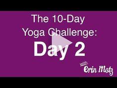 Erin Motz // 10 Day Yoga Challenge: Day 2 - Plank Party