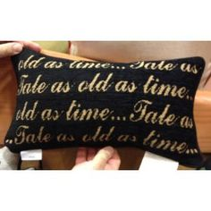 *Already Purchased* Back of: Disney Park Beauty and the Beast Be Our Guest Decorative Toss Pillow Decorator Dream Rooms, Dream Bedroom, Home Bedroom, Bedroom Ideas, Beauty And The Beast Bedroom, Disney Beauty And The Beast, Disney Home, Baby Disney, Guest Bedrooms