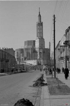 Kościół św. Rocha, Białystok - 1954 rok, stare zdjęcia