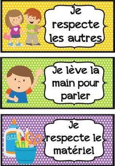 affichages pour la classe French Teaching Resources, Teaching French, French Education, Kids Education, French Flashcards, French Worksheets, French Language Lessons, French Classroom, Kindergarten Lesson Plans