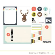 Cuppa Printables by Hello Forever Digital File