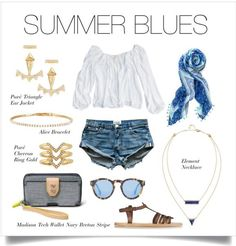 Ready for summer? This denim shorts look will keep you cool! #StelladotStyle #summer Www.stelladot.com/BreanneManues
